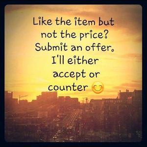 Make a Reasonable Offer